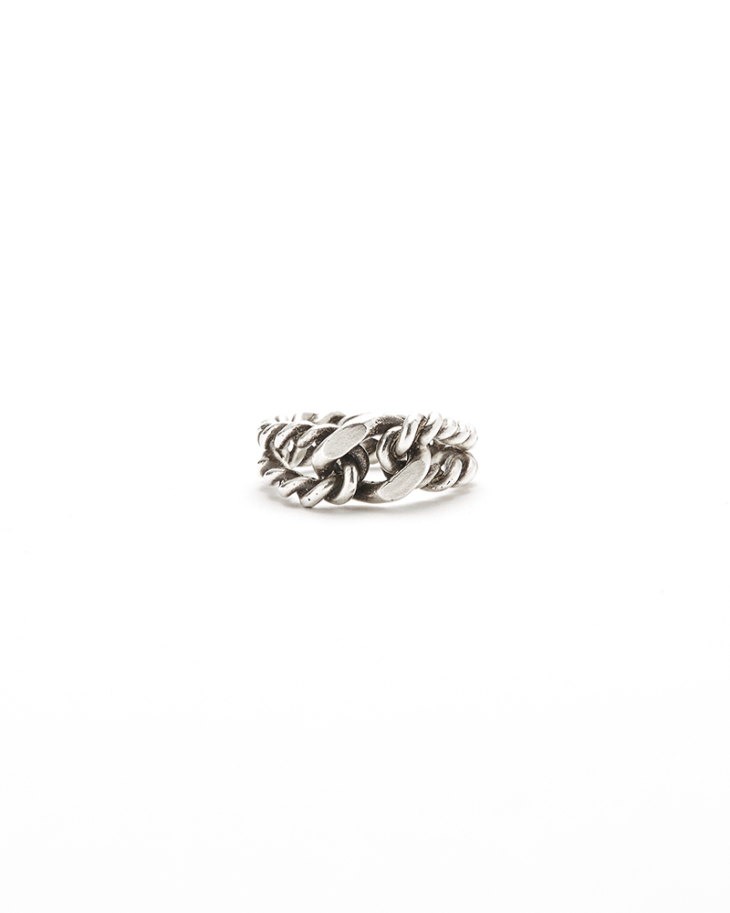 TWISTED CHAIN RING