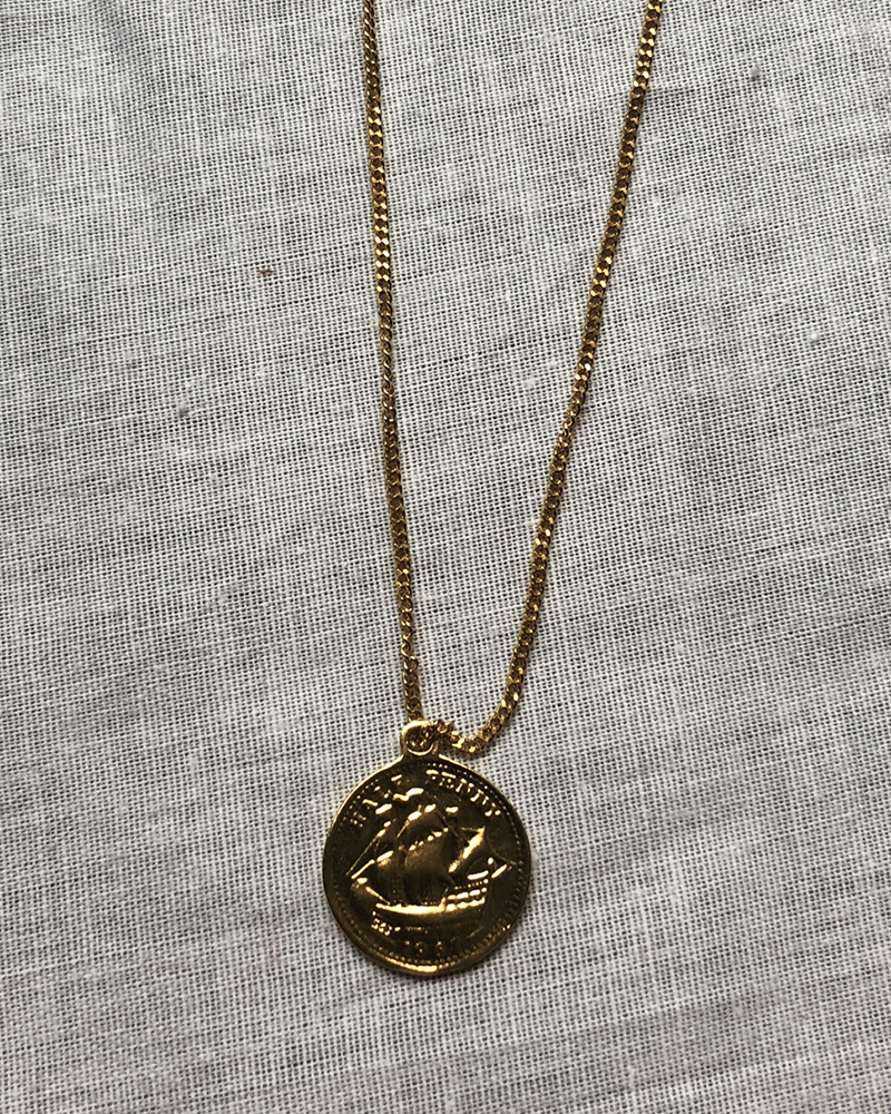PENNY SINGLE C. NECKLACE
