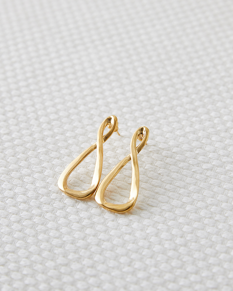 ETERNAL TRIANGLE EARRING SMALL
